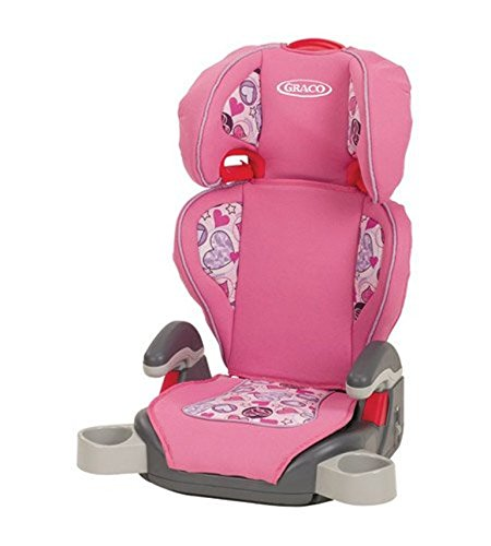 Graco TurboBooster Love Hearts Seat, Pink, 1-Pack