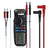 ELEGIANT Multímetro Digital Profesional Buscador de Cables Digital ADM92 de Mano con Pantalla LED para medir el Voltaje de Corriente alterna AC/DC diodo de Resistencia y continuidad etc