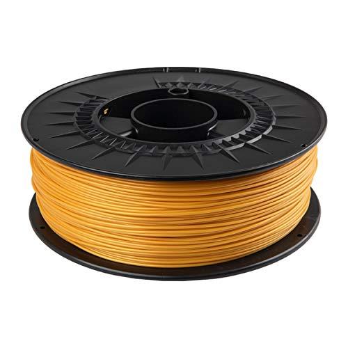 super-filament PLA Filament PRO 2.85 mm 2kg für 3D Drucker in RAL Farben (Perlgold)