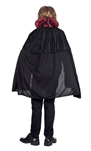 Boland- Costume Bambino Vampire King, Nero/Rosso, 7-9 anni, 78043