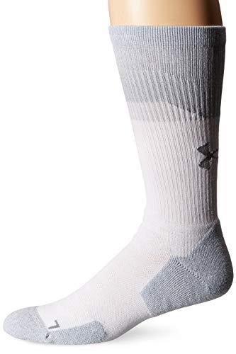 Under Armour Herren Unrivaled 3.0 Crew Socken, 1 Paar Socken, Herren, Socken, U064, weiß, 4-8