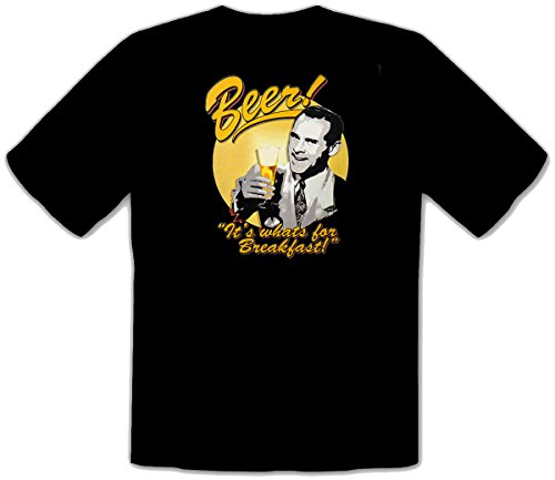 Biertrinker Bier Beer Fun Party Retro 50s Vintage T-Shirt - 452 (XXL)