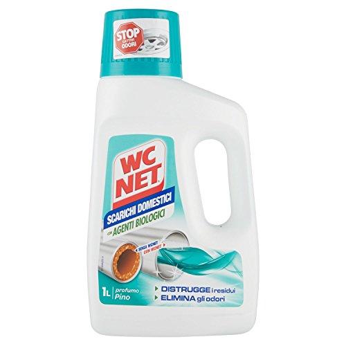 WC Net – Tratamiento para Tuberías domésticas, aroma de pino – 1 l