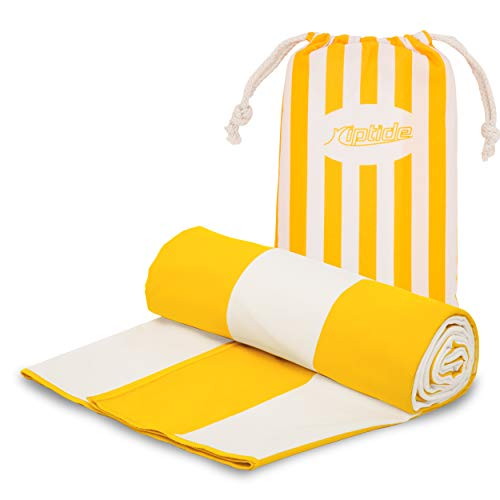 Toallas de rayas amarillas de Playa 200x90cm