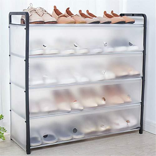 Zapatero para El Hogar, Organizador De Almacenamiento De Zapatos De Pie De 5 Niveles, Torre De Zapatos con Pantalla Que Ahorra Espacio para Dormitorio, Pasillo, Armario, Entrada,A