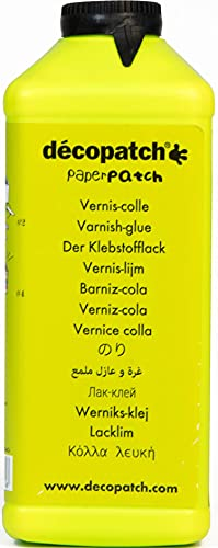 Décopatch PP600A - Pegamento Satinado con Barniz, 600 g