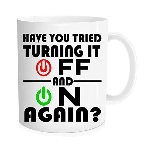 Funny Coffee Mug - Taza de café con texto en inglés