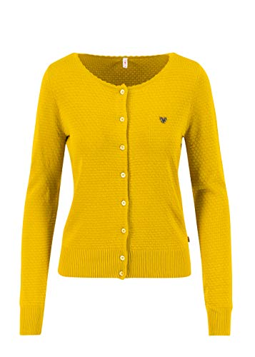 Blutsgeschwister Damen Save The Brave Jacke, Suited in Yellow, EU S