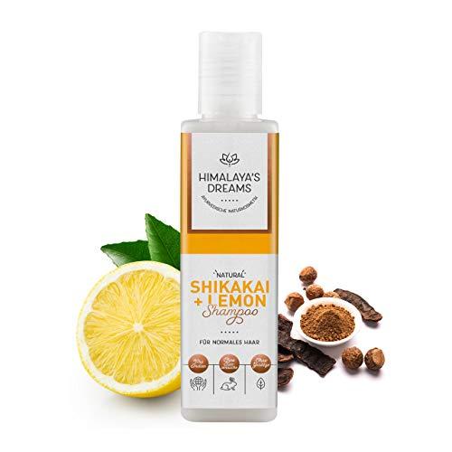 Ayurveda Naturkosmetik Shampoo von Himalaya`s Dreams, Shikakai & Lemon 200ml Shampoo ohne Silikon Sulfate und Parabene
