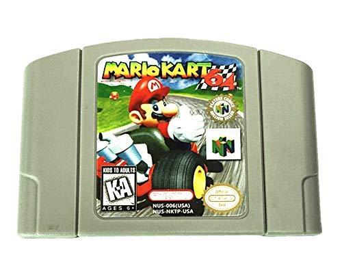 Game Cartridge for Nintendo N64 Mario Kart 64 Video Card US Version High Quality