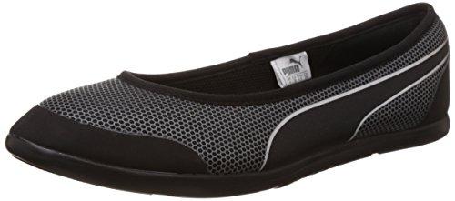 PUMA Modern S, Damen Sneaker, schwarz - Schwarz (Black/Black) - Größe: 37 EU