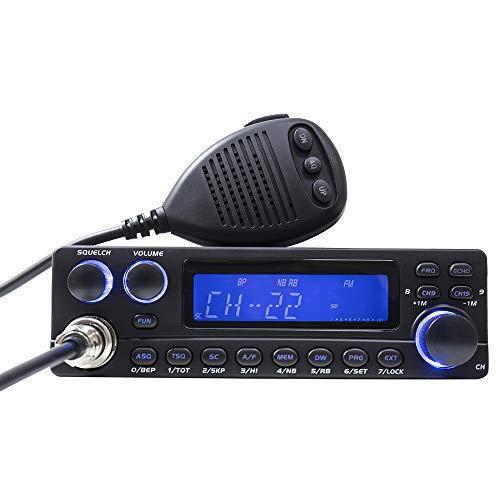 Radio CB TTI TCB-5289 di Anytone progettato per la comunicazione a distanza tra autovetture e camion