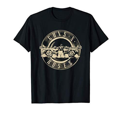 Guns N' Roses Official Reverse Logo T-Shirt for in Men's and Women's Sizes