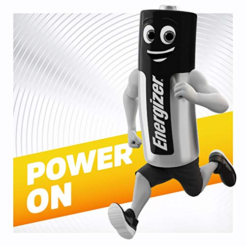 Energizer AA Batteries, Alkaline Power Double A Batteries, 32 Pack