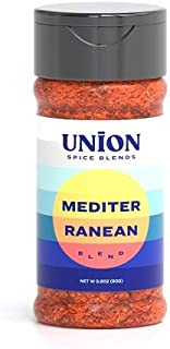 Sponsored Ad - Union Spice Blends Seasoning Blend, Gluten Free, Non GMO, Nut Free, Kosher, 3 oz. (Mediterranean Spice)