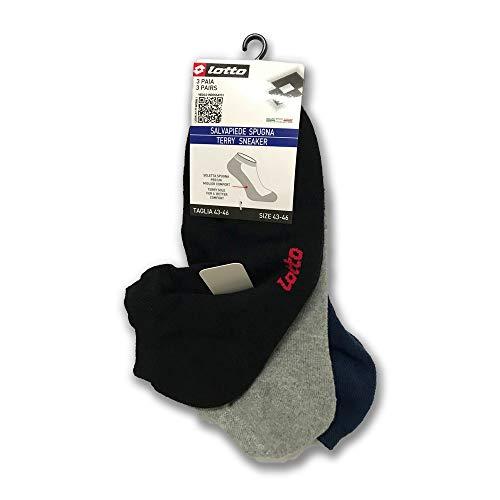 Lote de protectores de pies de esponja para hombres y mujeres 3 pares Colores surtidos talla 35-38