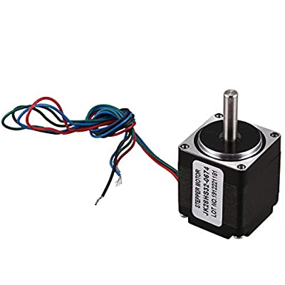 Sonline NEMA 11 28 Hybrid Stepper Motor 1.8 Degree 2 Phase 4 Wires 32Mm Stepper Motor for CNC Router