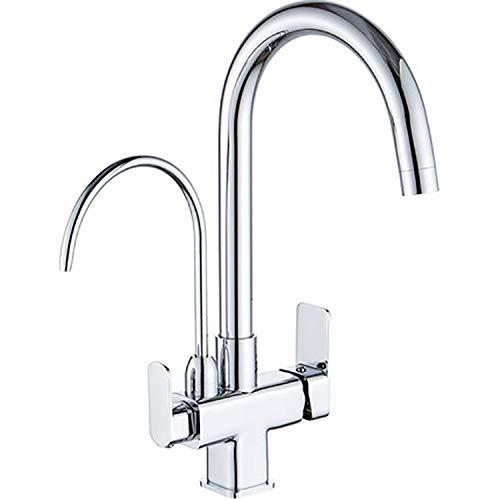 Alle Kupfer direkt trinken drei-in-einem Wasserhahn heiß und kalt Gemüsespüle Küche Waschbecken Waschbecken Wasseraufbereitungsmaschine