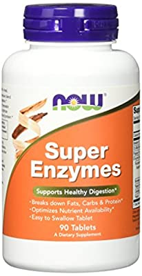 Now Supplements, Super Enzymes, Formulated