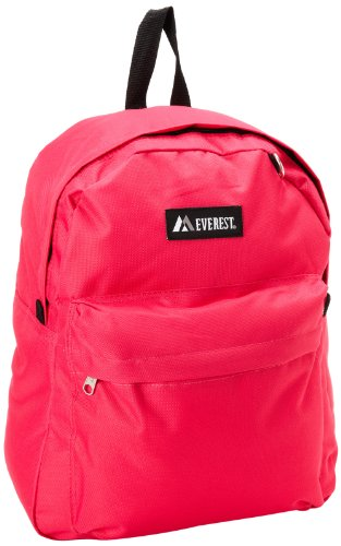 Everest Luggage Basic Backpack, Pink, Medium
