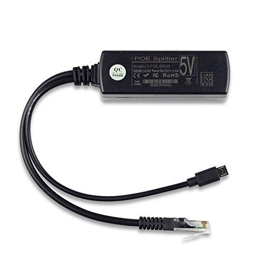 Cuasting POE módulo de fuente de alimentación divisor aislado estándar 48V a 5V2.4A USB divisor de interfaz