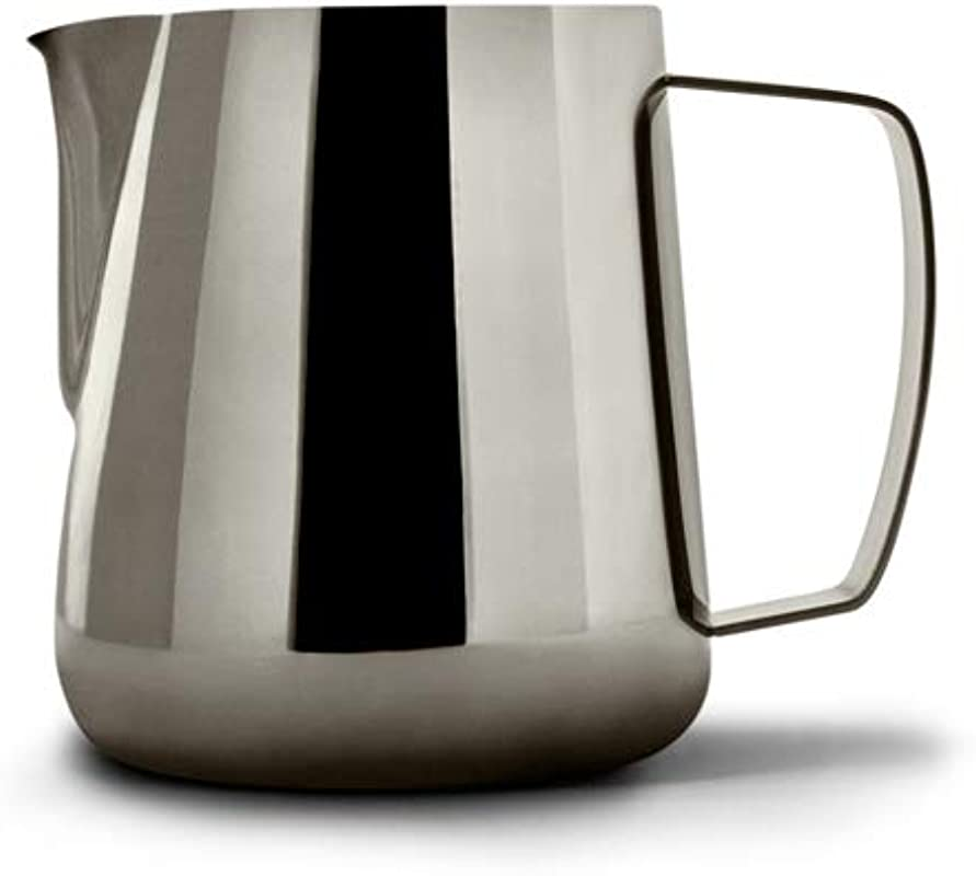 Precision Milk Frothing Pitcher For Professional Latte Art Barista Hustle By World Champion Barista Space Black 400ml