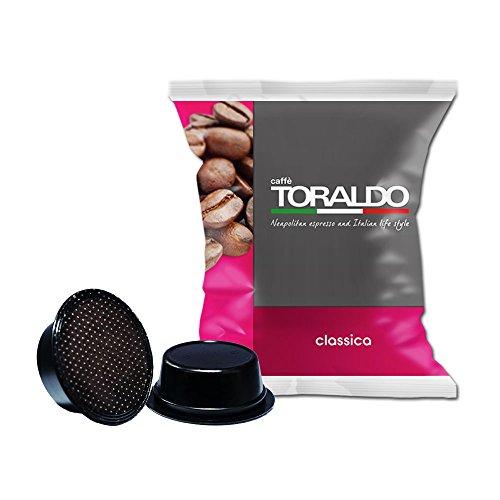 100 Capsule A Modo Mio Compatibili Caffè Toraldo Miscela Classica