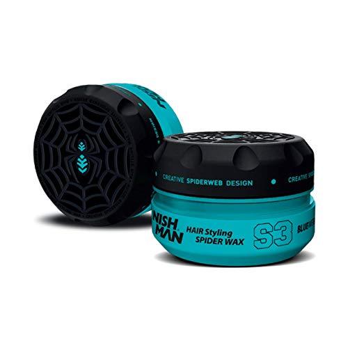 NISHMAN S3 Hair Styling Spider Wax - Blau 150 ml