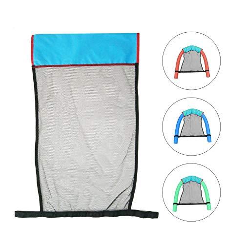 SISHUINIANHUA Sommer Floating Pool Kid Erwachsener Bett Sitz Wasser Float Ring Leichte Nudel Sling Ineinander greifen-Netz-Stuhl Wasserschwimmen Sitzzubehör