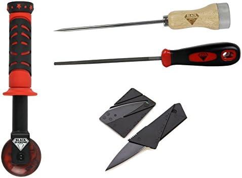 Black Diamond Skateboard Griptape Roller File Awl Cutter Application Kit Skate Tools Set product image