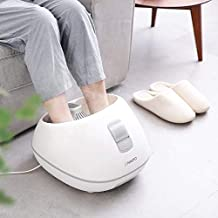 Steam Foot Bath/Spa Massager Foot Sauna Tub with 3 Heat Levels and 2 Adjustable Timers, No Water Pouring, 4 Pedicure Massage Rollers and Imitated Pebble Pedal Detachable, New Method for Stress Relief