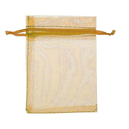 Tammy Yerke 50 Stück Organza Taschen Hochzeitsbevorzugung Geschenktüten Süßigkeiten Beutel Kleine Schmucktaschen 7x9cm