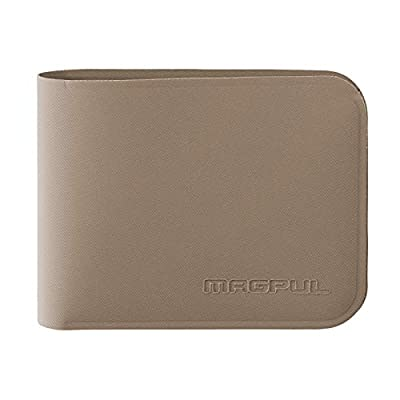 Magpul DAKA Bifold Tactical Minimalist Cash and Card Holder Wallet EDC Gear, Flat Dark Earth