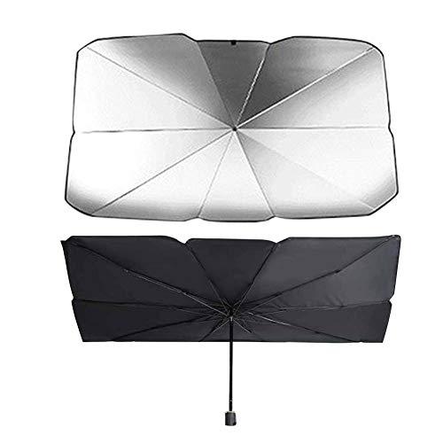 UV-Block Sonnenblende Abdeckung Auto Sonnenschirm Faltbare Bequeme automatische Windschutzscheibenabdeckung, Auto Sonnenblende, Auto Sun Shade Umbrella Faltbare