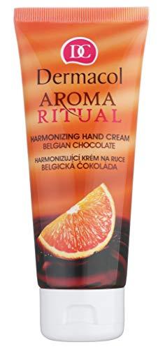 Crema de Manos - Aroma Ritual - Chocolate Belga - Dermacol
