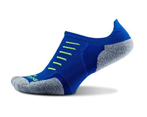 Thorlos Experia Experia Unisex Thin Padded Running No Show Tab Socks Calzini da Corsa, Royal, S Donna