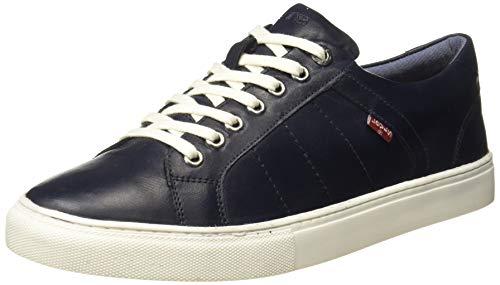 Levi's Men Indi Exclusive Navy Blue Sneakers-9 UK (43 EU) (10 US) (38099-1630)