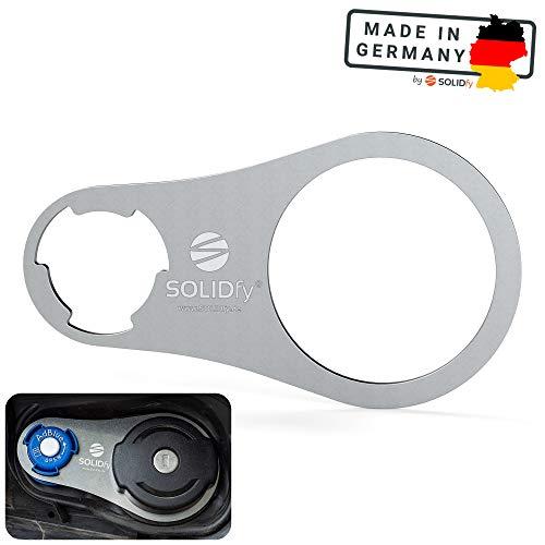 SOLIDfy® - AdBlue Verschluss Sicherung aus Edelstahl für Citroen Berlingo, Opel Combo, Peugeot Rifter, Toyota Proace City