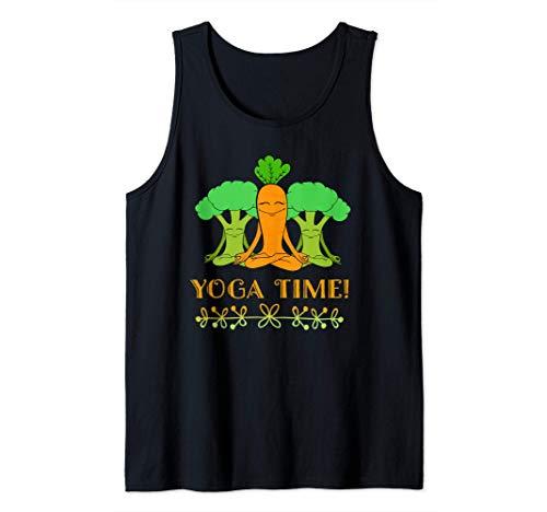 Diseño vegano Ropa de yoga linda Regalos divertidos para Camiseta sin Mangas