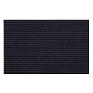 IKEA KRISTRUP - Felpudo (35 x 55 cm, antideslizante, resistente), color azul oscuro