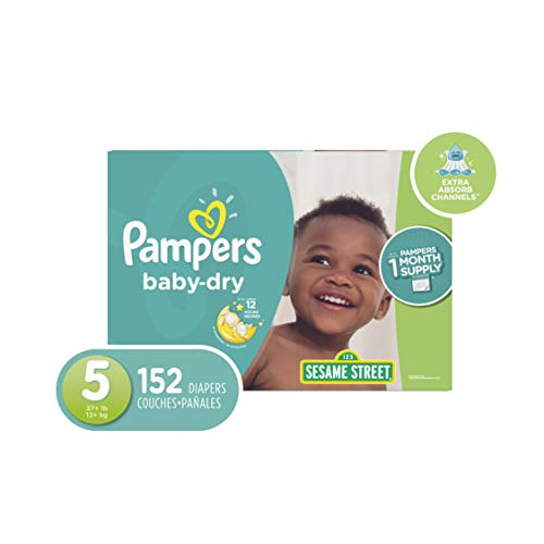 Pampers Diapers Size 5 (OLD)