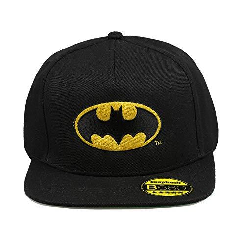 DC Comics Batman Logo Gorro de Punto, Negro (Black BLK), Taille Unique para Hombre