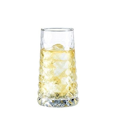 Reisebecher rüge, Dekantierer & Karaffen Personalisiertes Glas einzigartiger Trinkbecher lidless Kreativbecher farbloser transparenter Saftbecher bleifreies Sektglas Kaffee Milch Cocktailglas Krüge
