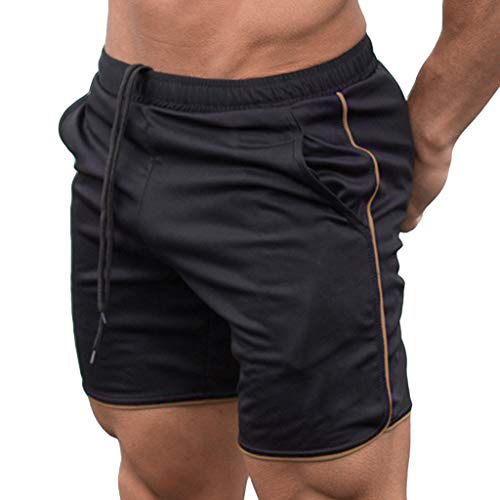 Review Of STORTO Mens Solid Shorts Summer Beach Swimming Sports Casual Fashion Workout Fit Elastic S...