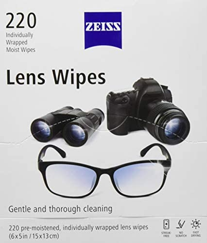 Zeiss Lens Wipes White 220 Count product image