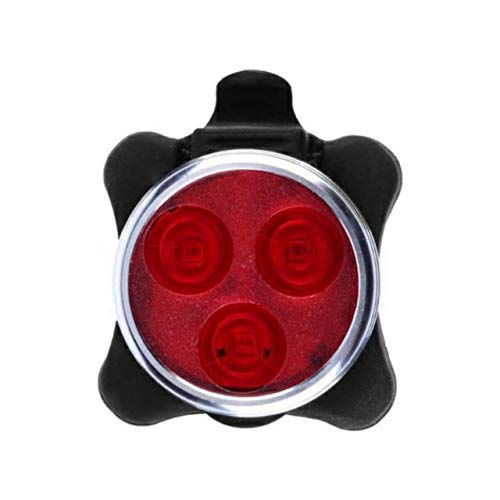 FASTPED ® Bicycle Bright Cycling Bicycle Bike 3 Led Head Front Light 4 Modes USB Rechargeable Tail Clip Light Lamp Waterproof