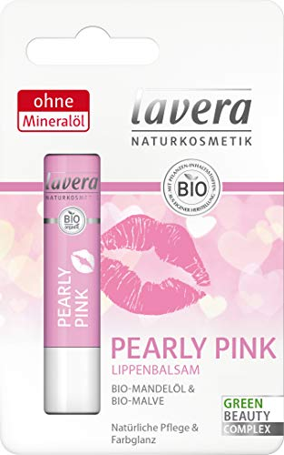 lavera Pearly Pink Lippenbalsam