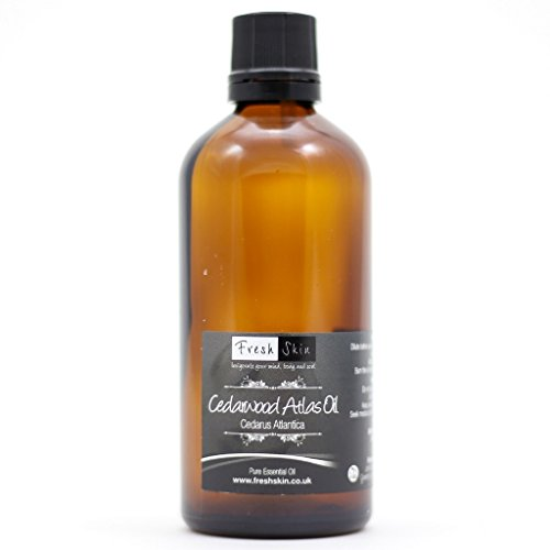 Freshskin Beauty LTD | Cedarwood Atlas Essential Oil - 100ml - 100% Pure & Natural Essential Oils