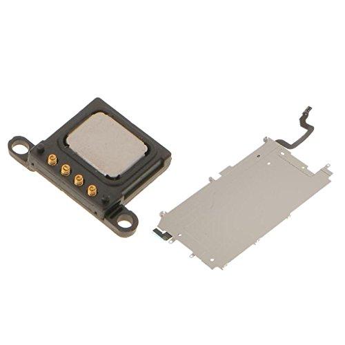 Placa trasera LCD + botón Home expande cable Flex + auricular para iPhone 6