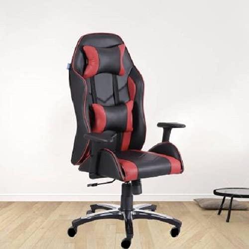 Furniture Galiara Ultimate Series Multi-Functional Ergonomic Gaming Chair (GC-101R) (Black & Red) (Size - Large)